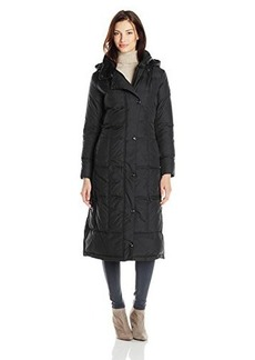 Larry Levine Women's Maxi Down Coat