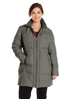 Larry Levine Women's Plus-Size Figure-Flattering Down Coat