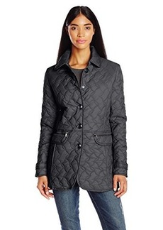 Larry Levine Women's Quilted Barn Jacket