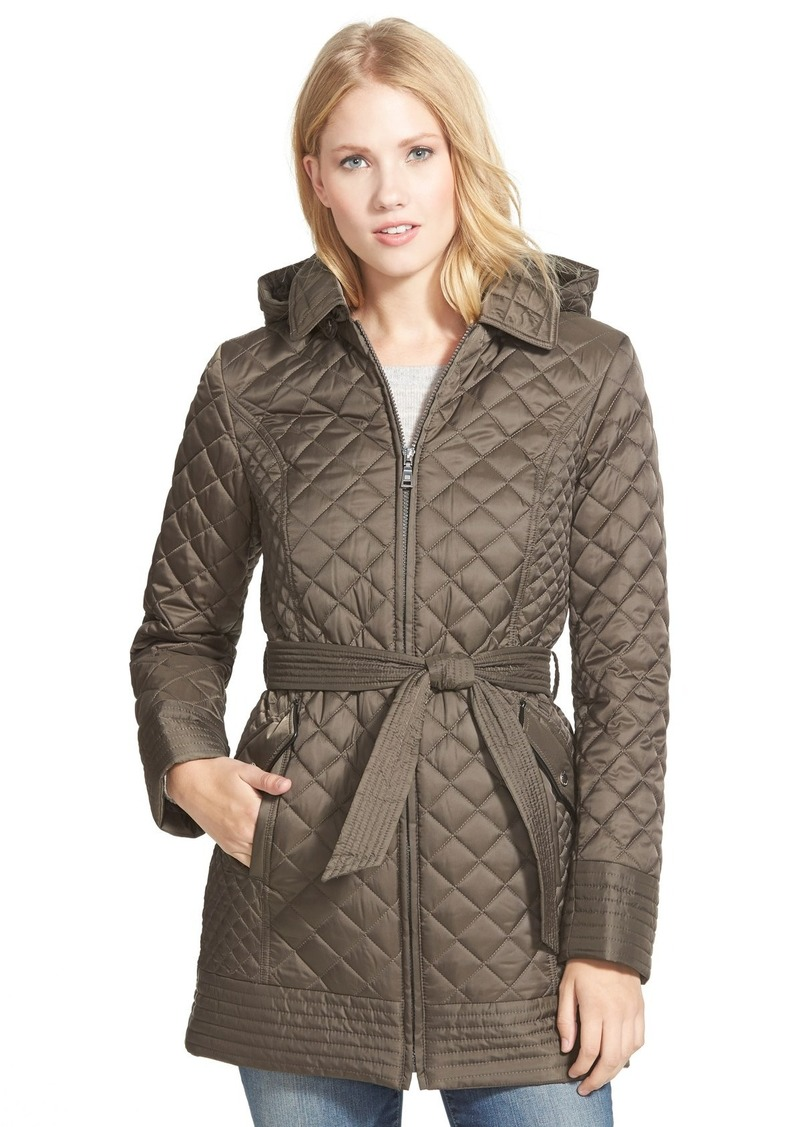 Laundry By Shelli Segal Laundry By Design Belted Hooded