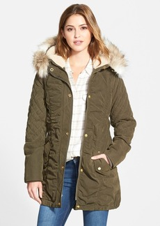 Laundry by Design Faux Fur Trim Parka (Online Only)
