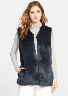 Laundry by Design Faux Fur Vest