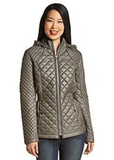 Laundry by Design Hooded Quilt Coat
