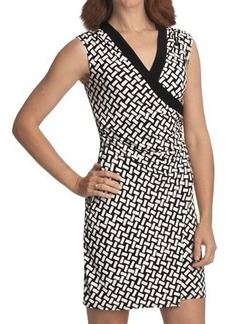 Laundry by Design Jersey Wrap Dress - Sleeveless (For Women)