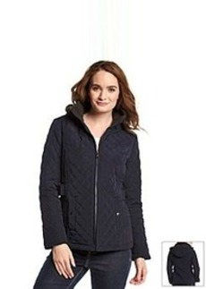 Laundry by Design Quilted Jacket with Side Tabs