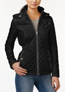 Laundry by Design Short Hooded Quilted Jacket