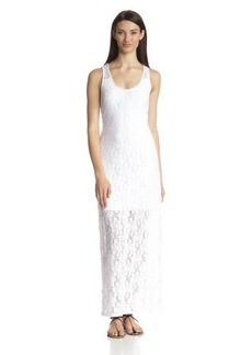 Laundry by Design Women's Lace Maxi Dress with Short Slip