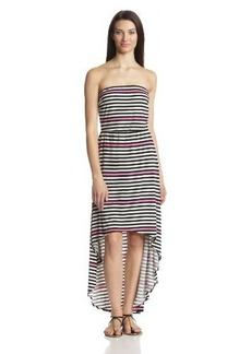 Laundry by Design Women's Strapless Hi-Lo Maxi Dress
