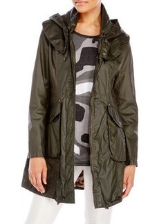 laundry by shelli segal Army Coated Anorak