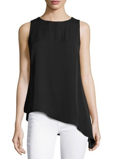 Laundry by Shelli Segal Asymmetric Sleeveless Tunic
