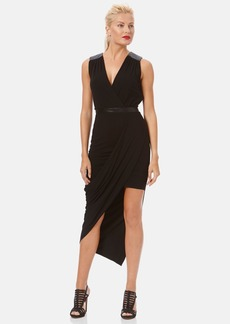 Laundry by Shelli Segal Asymmetrical Jersey Dress