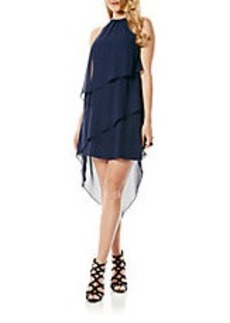 LAUNDRY BY SHELLI SEGAL Asymmetrical Tiered Dress