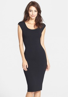 Laundry by Shelli Segal Back Cutout Jersey Body-Con Dress