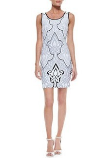 Laundry by Shelli Segal Baroque-Print Tank Dress