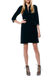 Laundry by Shelli Segal Beaded Jersey Tunic Dress