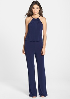 Laundry by Shelli Segal Chain Detail Jersey Jumpsuit