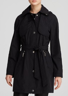 Laundry by Shelli Segal Coat - Drip Drop Belted Trench