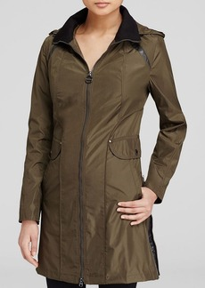 Laundry by Shelli Segal Coat - Long Side Zip Windbreaker
