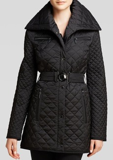 Laundry by Shelli Segal Coat - Quilted Shawl Collar