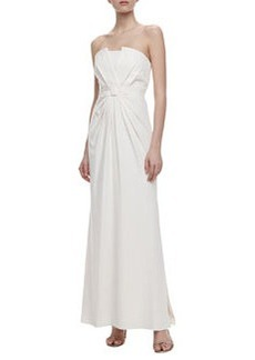Laundry by Shelli Segal Convertible Straps Floor-Length Gown