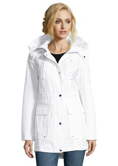 Laundry by Shelli Segal Cotton Cloud Anorak
