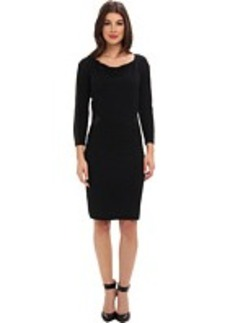 Laundry by Shelli Segal Cowl Neck Sweater Dress