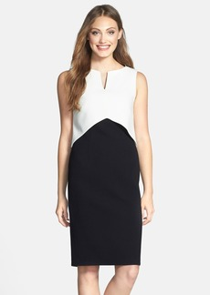 Laundry by Shelli Segal Crepe Popover Dress