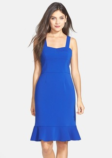 Laundry by Shelli Segal Crepe Trumpet Hem Dress