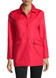 Laundry by Shelli Segal Curved Seam Jacket, Tango Red