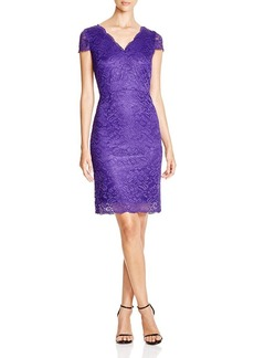Laundry by Shelli Segal Cutout Back Lace Dress - Bloomingdale's Exclusive