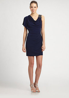 Laundry by Shelli Segal Draped Dress