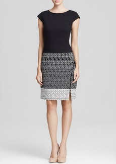 Laundry by Shelli Segal Dress - Jacquard Ponte