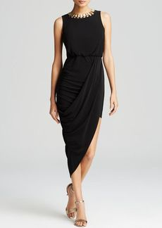 Laundry by Shelli Segal Dress - Matte Jersey Asymmetric Hem
