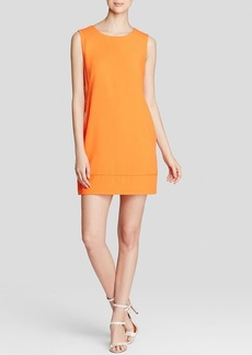 Laundry by Shelli Segal Dress - Sleeveless Crepe Cutout Back Sheath