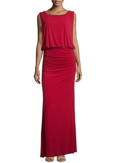Laundry by Shelli Segal Embellished Blouson Gown, Aurora Red