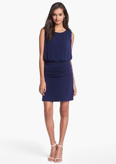 Laundry by Shelli Segal Embellished Jersey Blouson Dress