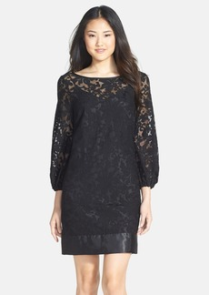 Laundry by Shelli Segal Embroidered Shift Dress (Regular & Petite)