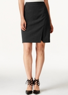 Laundry by Shelli Segal Faux Wrap Pencil Skirt