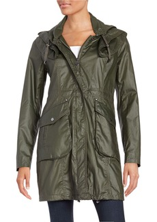 LAUNDRY BY SHELLI SEGAL Front Zip Anorak Jacket