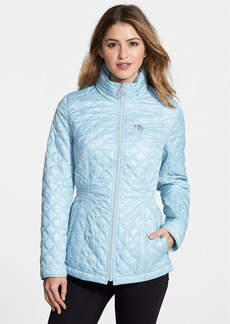 Laundry by Shelli Segal Front Zip Quilted Jacket