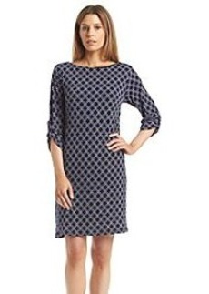 Laundry by Shelli Segal Galaxy Medallion Print A-Line Dress