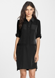 Laundry by Shelli Segal Georgette Shirtdress