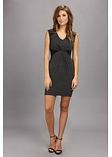 Laundry by Shelli Segal Heather Jersey & Lace Dress