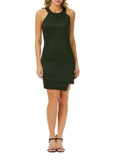LAUNDRY BY SHELLI SEGAL Honeycomb Jacquard Sheath Dress