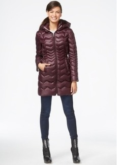 Laundry by Shelli Segal Hooded Down Puffer Coat