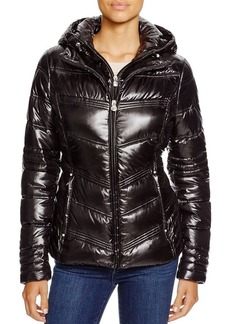 Laundry by Shelli Segal Hooded Packable Puffer Jacket