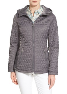 Laundry by Shelli Segal Hooded Quilted Jacket