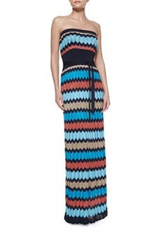 Laundry by Shelli Segal Inkblot Sweater Maxi Dress