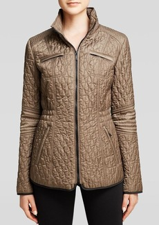 Laundry by Shelli Segal Jacket - Fishnet Quilting