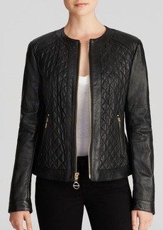 Laundry by Shelli Segal Jacket - Quilted Leather